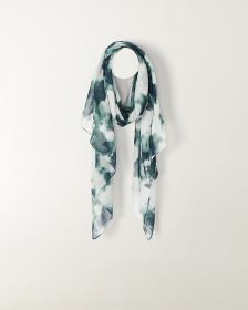 Abstract Print Oblong Scarf