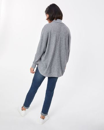 Dolman Sleeves Cocoon Cardigan