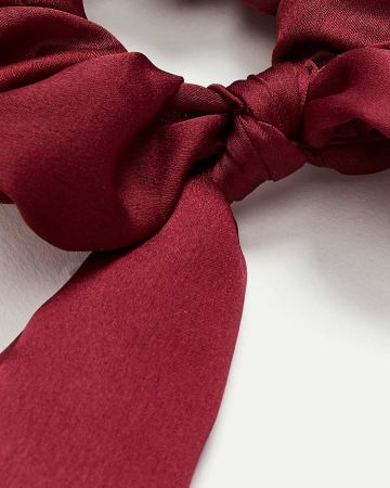 Satin Scrunchie with Bow