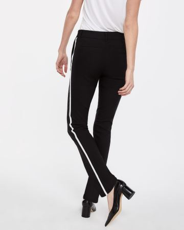 The Iconic Straight Leg Pants with Contrasting Band