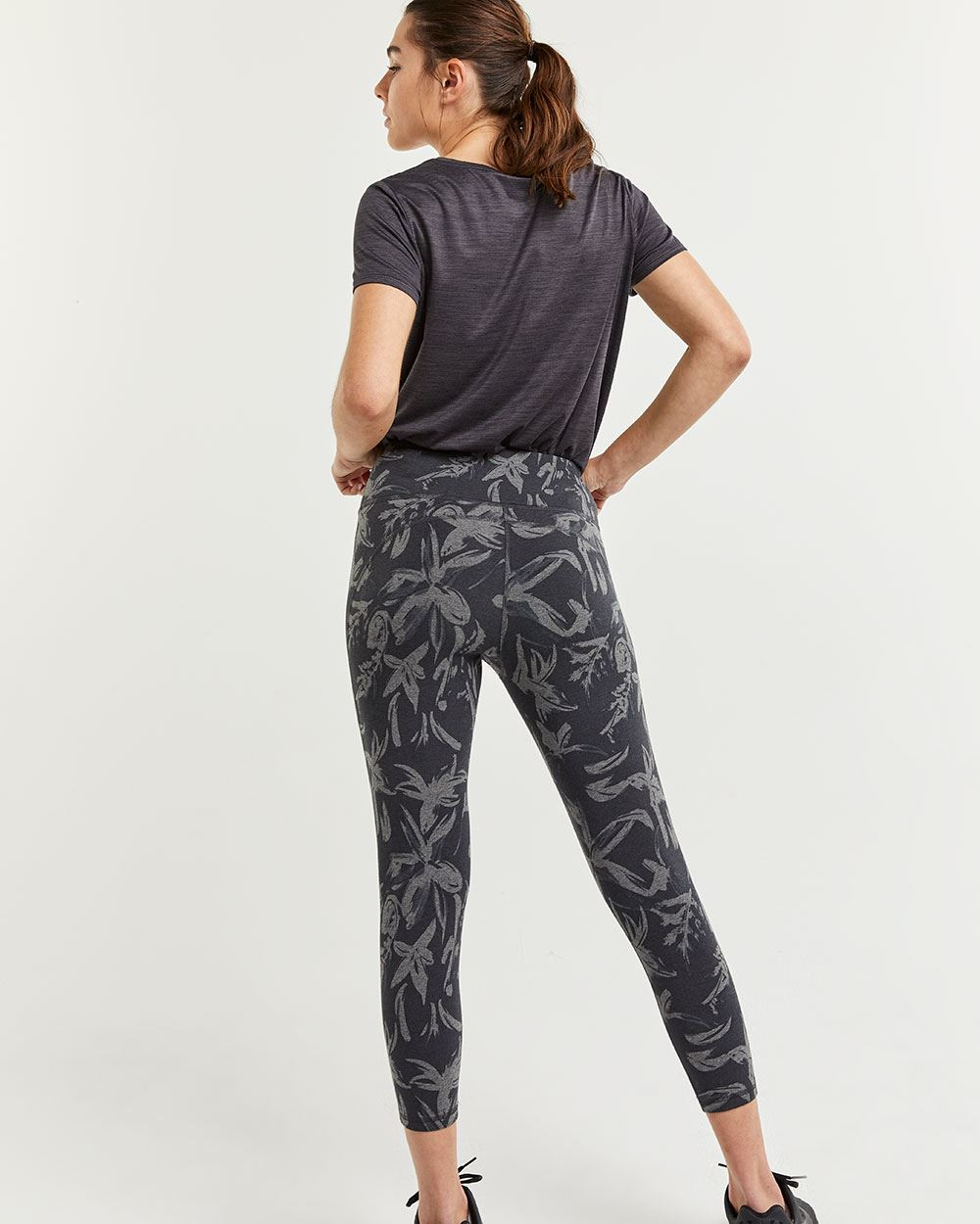 Cropped Printed Sculptor Leggings Hyba