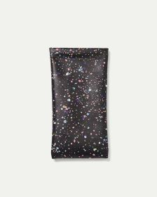 Speckled Print Sunglasses Case