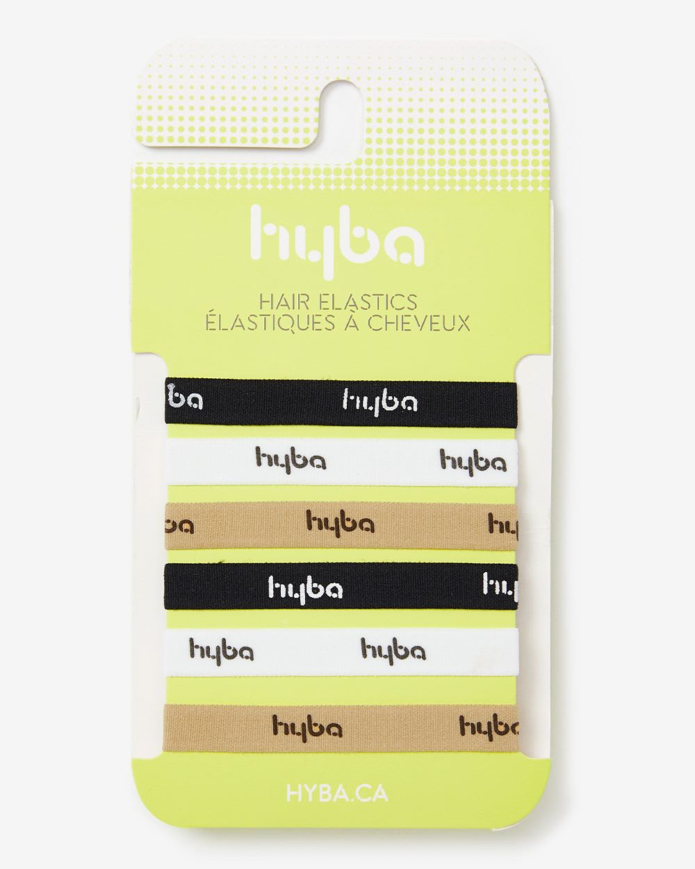 Set of 6 Hyba Hair Elastics
