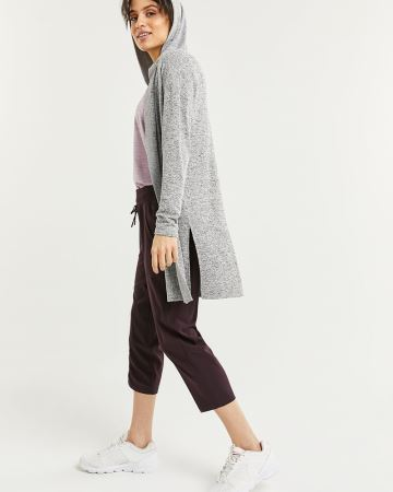 Long Hooded Cardigan Hyba