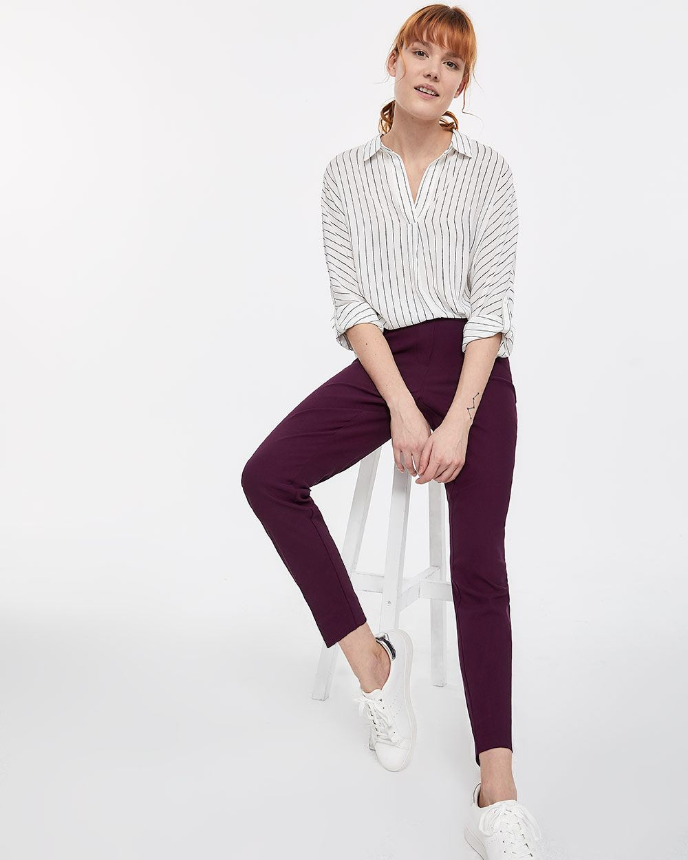 The Iconic Pull On Ankle Pants