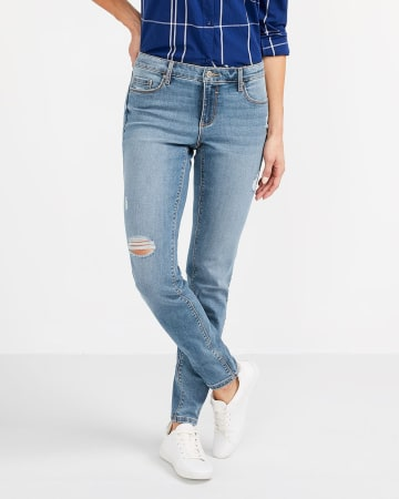 The Insider Light Wash Skinny Jeans