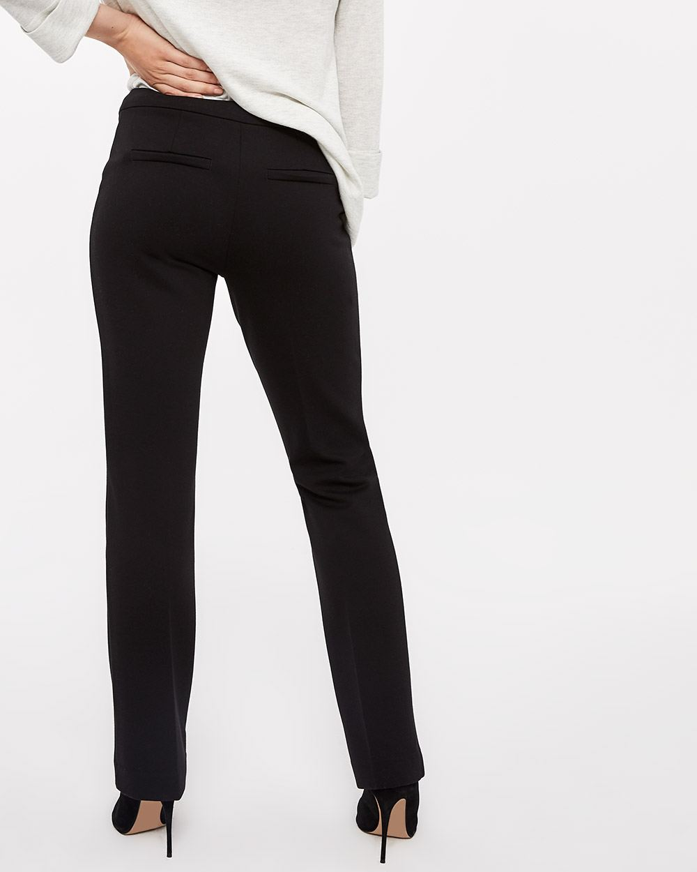7659652339 The Petite Modern Stretch Bootcut Pants