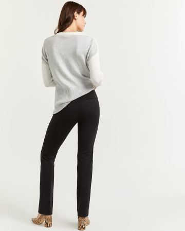 Black Bootcut Pull On Pants The Modern Stretch - Petite