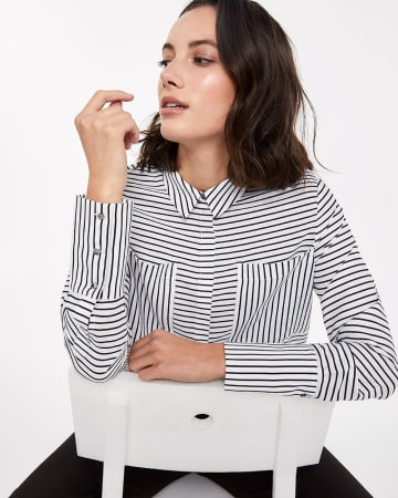 Willow & Thread Striped Shirt