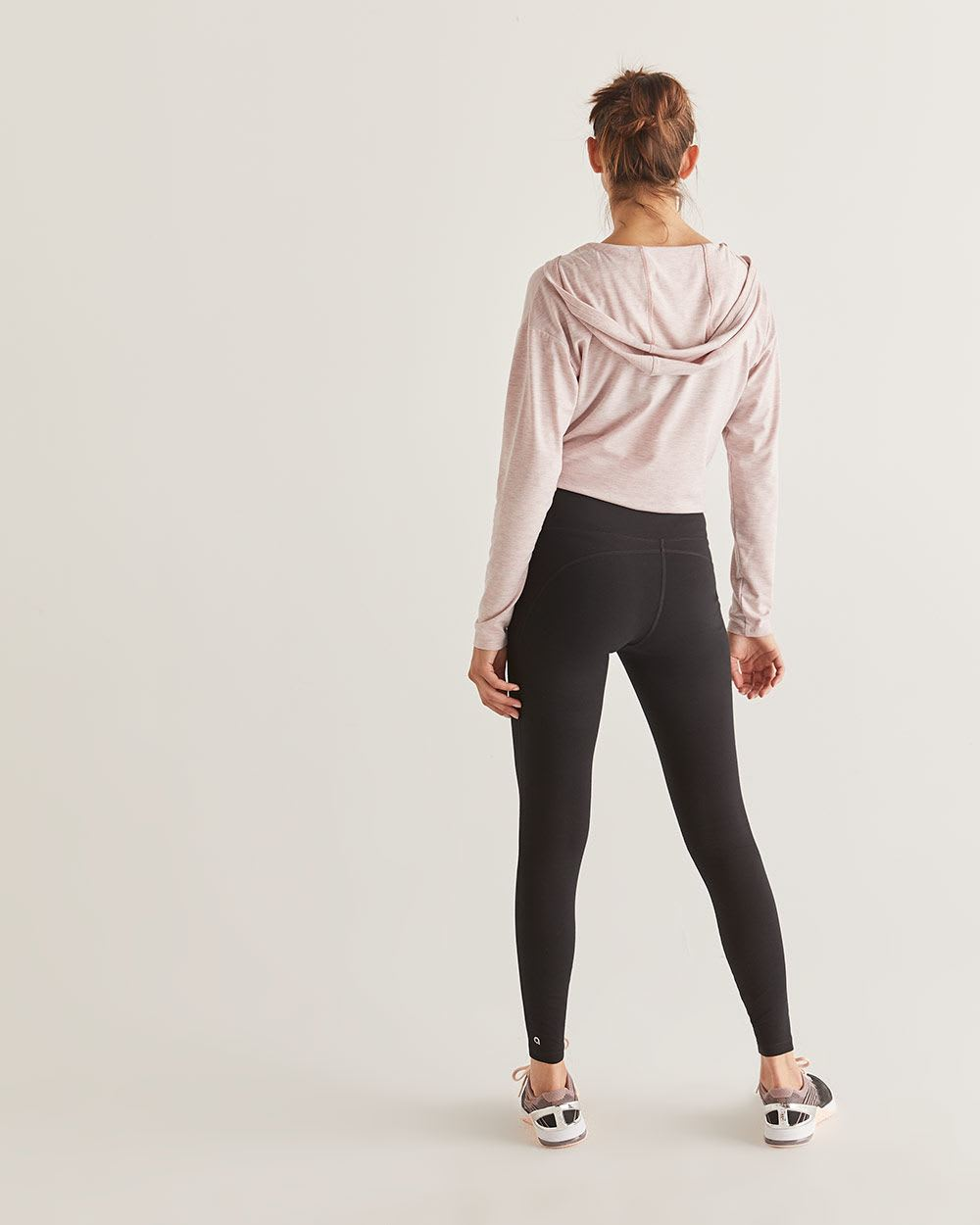Legging Sculptant noir Hyba - Long