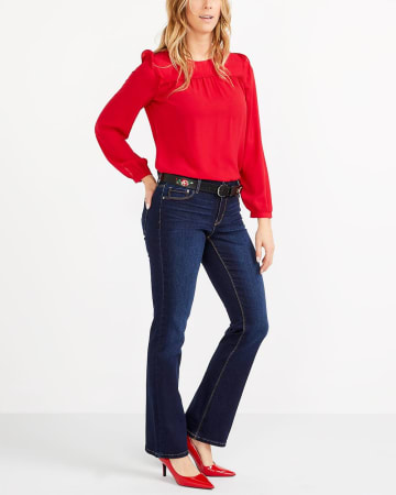 The Insider Petite Boot Cut Jeans