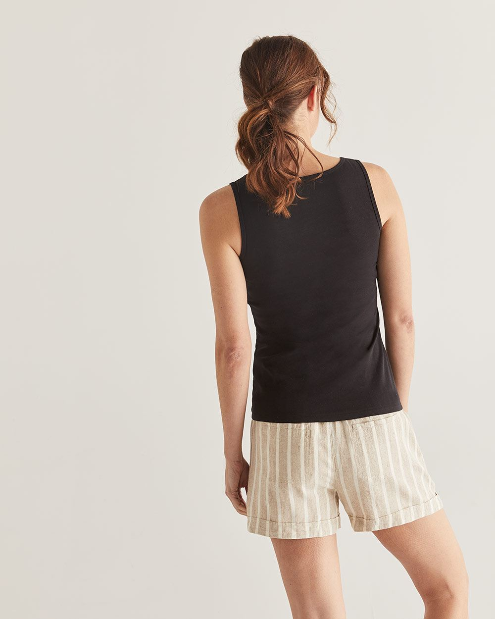 R Essential Cotton Tank Top