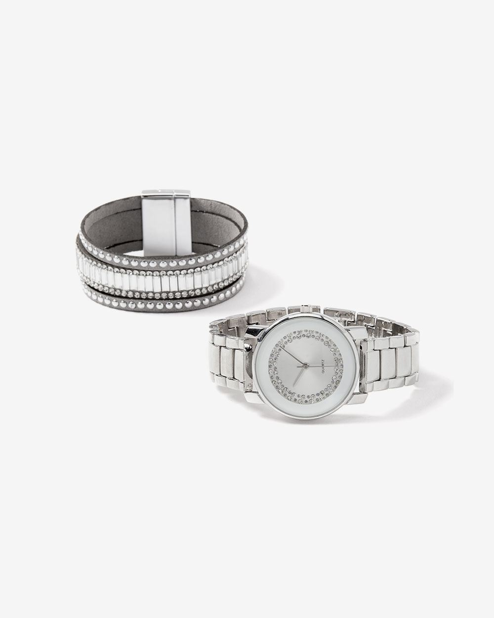Watch and Bracelet Gift Set