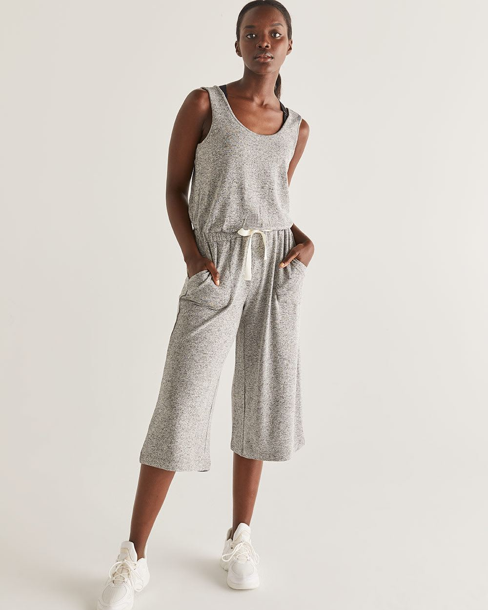 Hyba Wide Cropped Leg Jumpsuit
