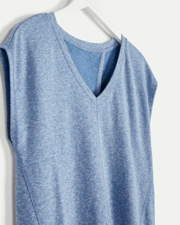 V-Neck Tee with Back Tie Hyba