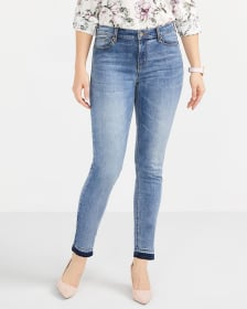 Released Hem Skinny Ankle Sculpting Jeans