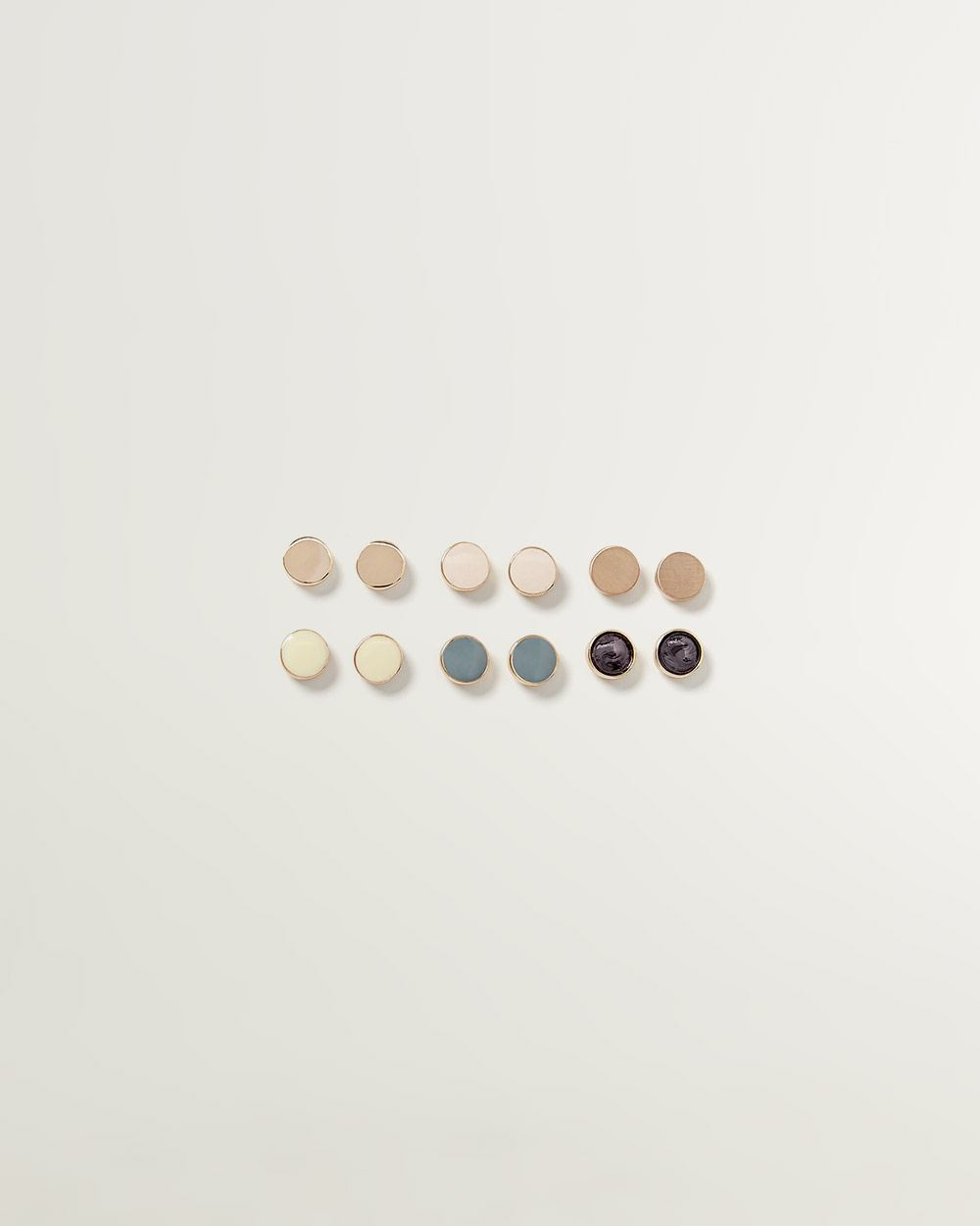 6-Pack Stud Earrings