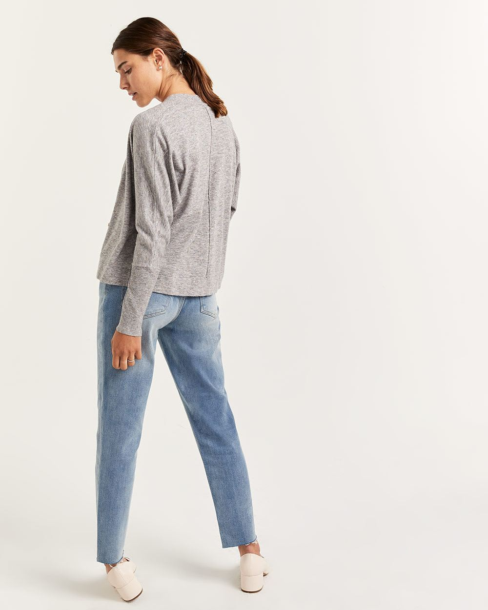 Dolman Sleeve Open Cardigan