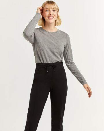 R Essentials Cotton Blend Long Sleeve Tee