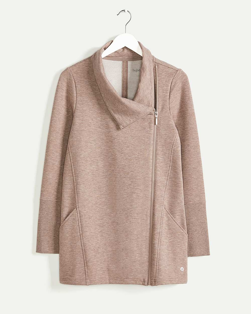Long Sleeve Asymmetrical Jacket Hyba