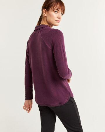 Hyba Brushed Knit Sweater