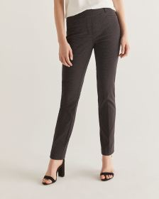 The Iconic Patterned Pull On Straight Pants - Petite