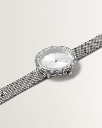 Acrylic Marble Mesh Watch