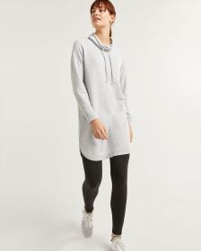 Hyba Soft Fleece Cowl Neck Dress