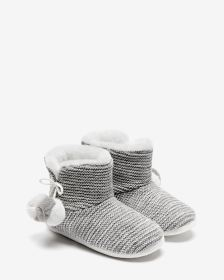 Knit Bootie Slippers