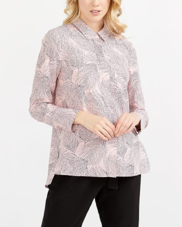 Willow & Thread Printed Tunic Shirt