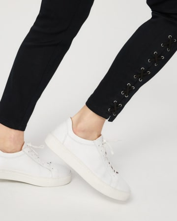 The Insider Lace-Up Skinny Jeans