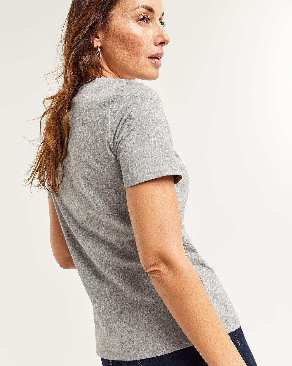 Short Sleeve Crew Neck Tee R Essentials