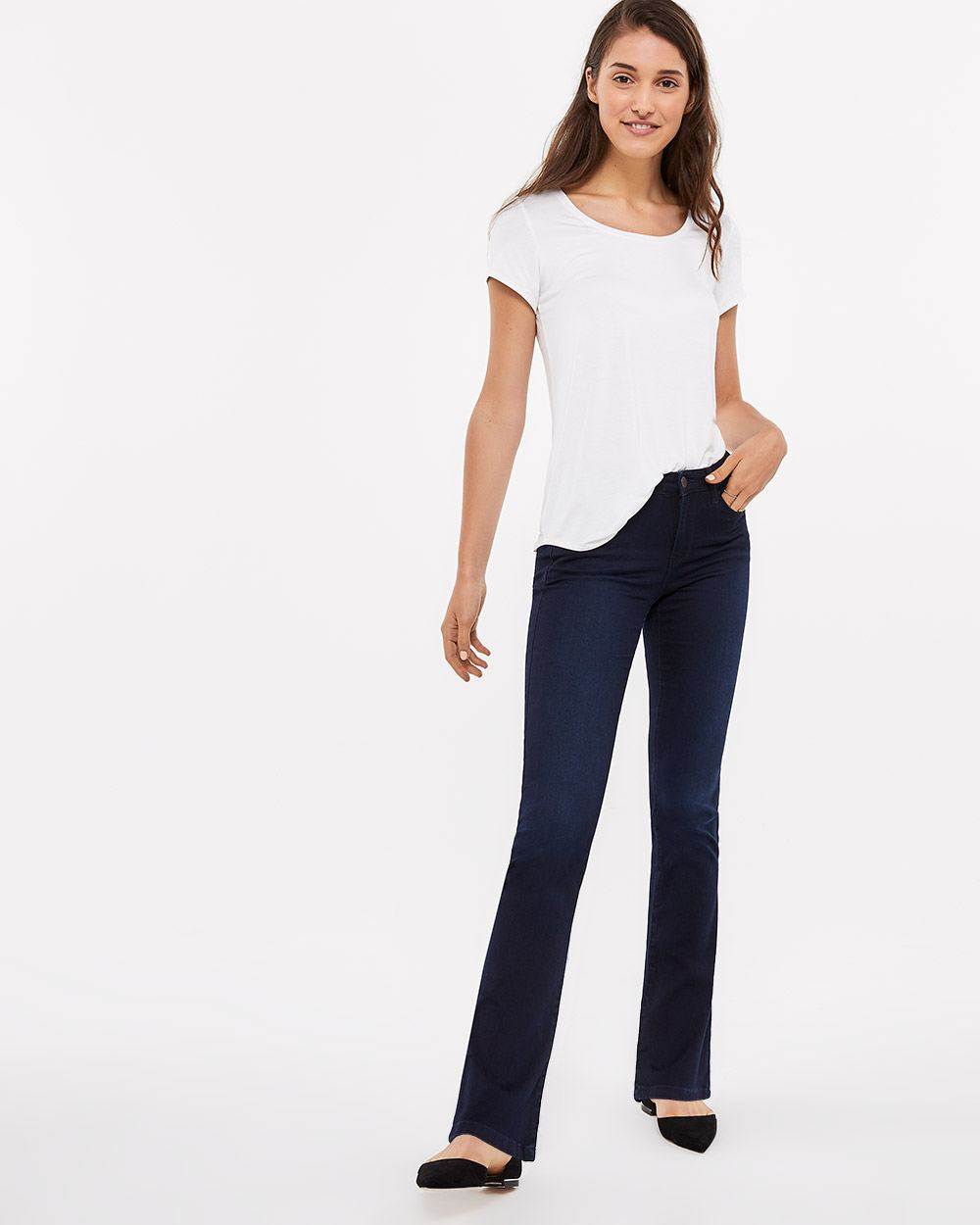 The Tall Signature Soft Boot Leg Jeans