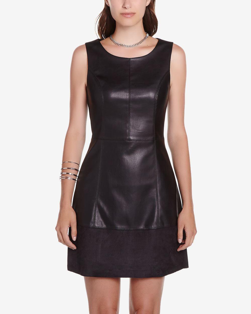 Faux Leather Dress Women Reitmans
