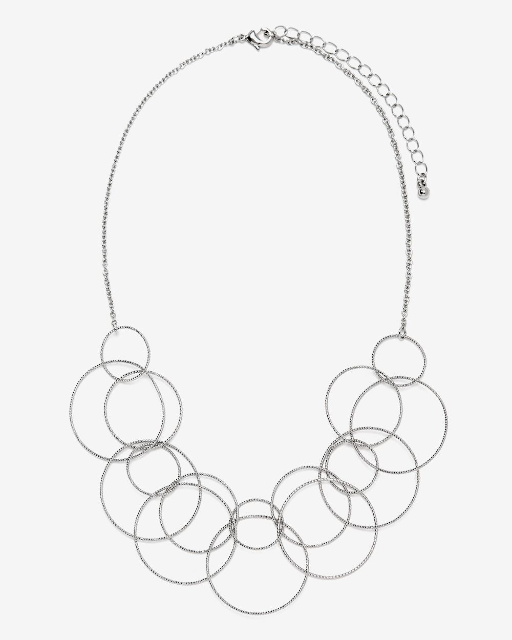 Multi Link Circle Necklace