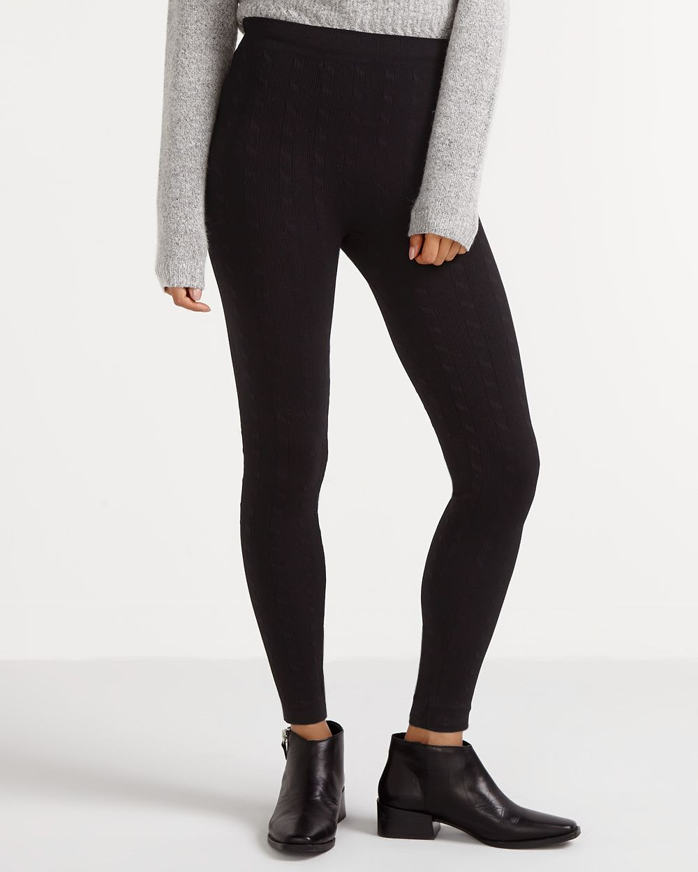 c6283f9cba9e6 Cable Knit Leggings | Women | Reitmans