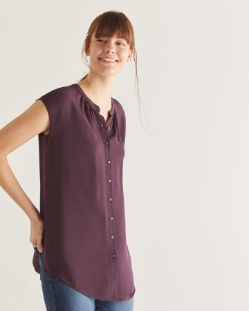 Buttoned-Down Tunic