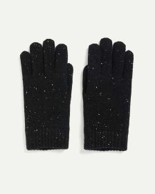 Speckled Knitted Gloves