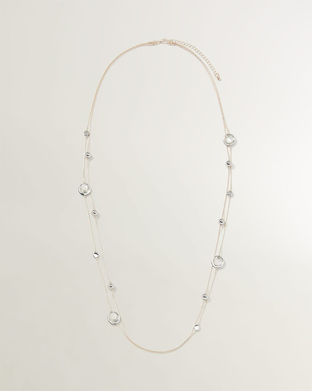 Multiple Beads Necklace