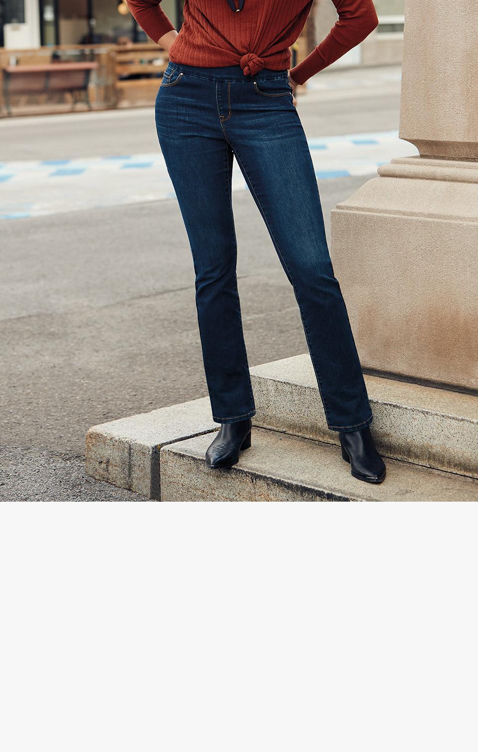 versatile jeans at Reitmanss