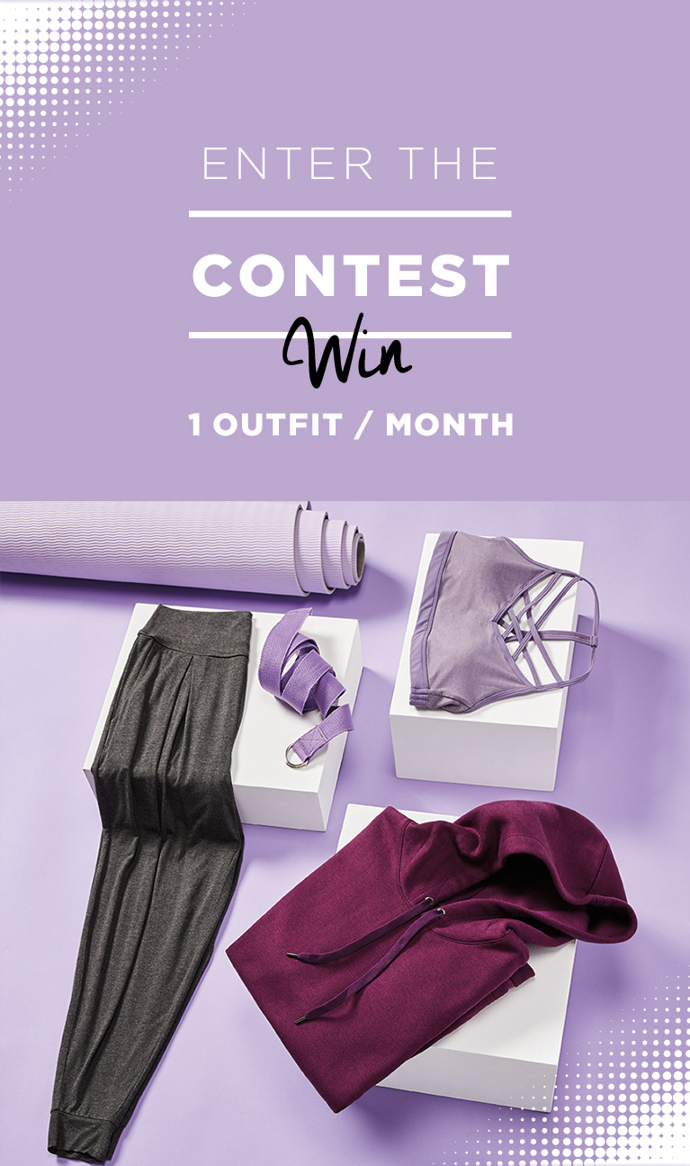 Enter the contest - win 1 outfit / month