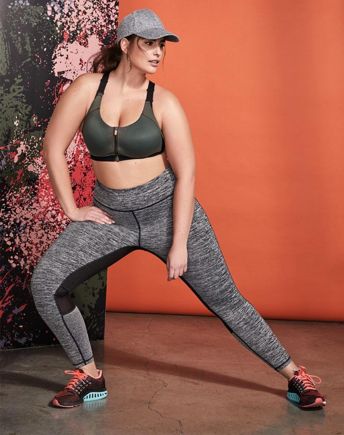 Woman in sportswear
