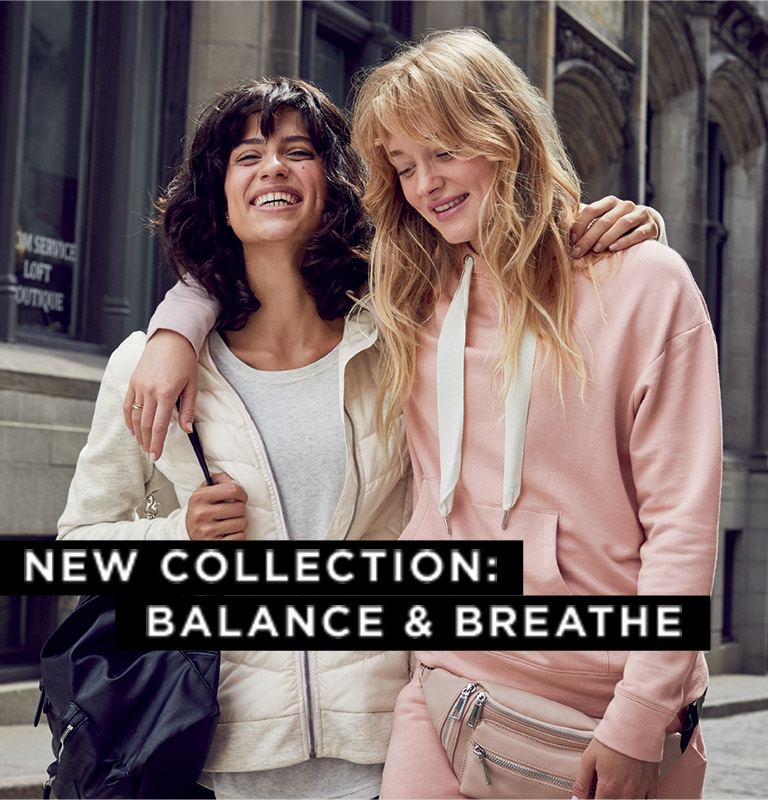 New collection: balance & breathe