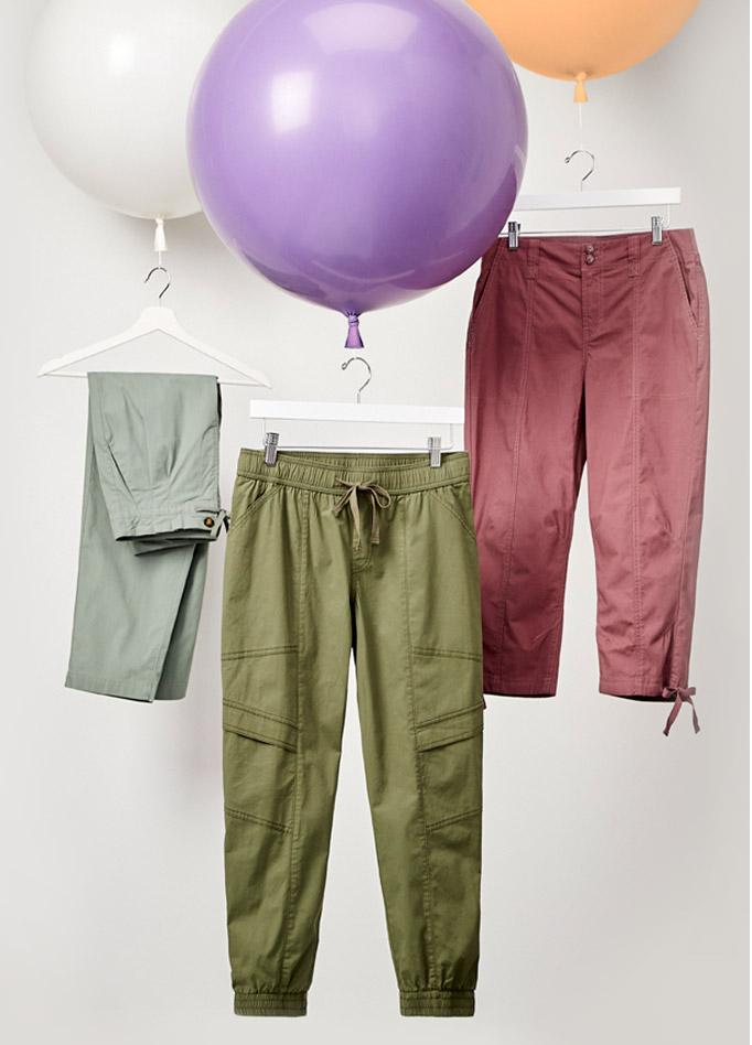 Nos pantalons en popeline