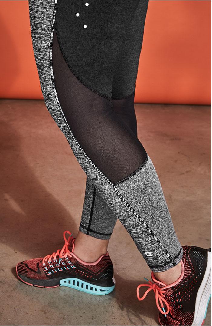 The running legging