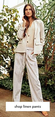shop linen pants