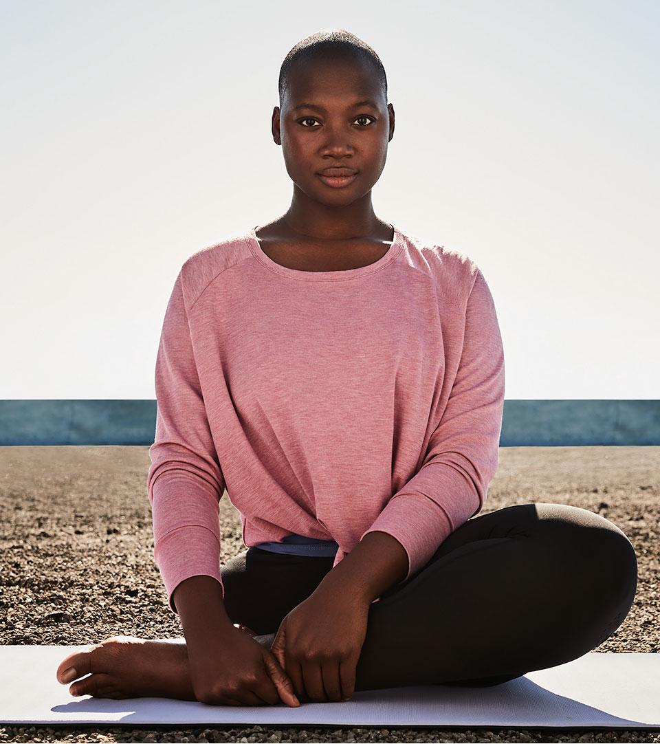Namaste. An aspiring Yogi?