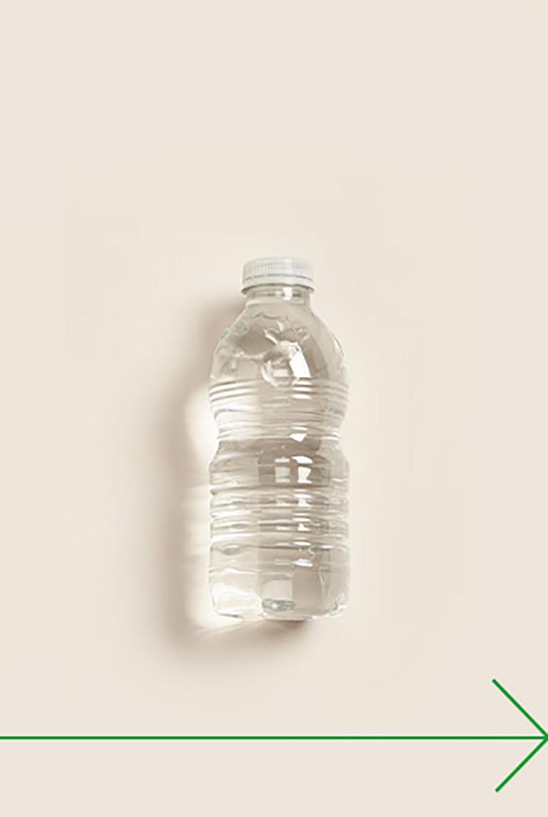 fait à partir de Bouteilles de plastique recyclées