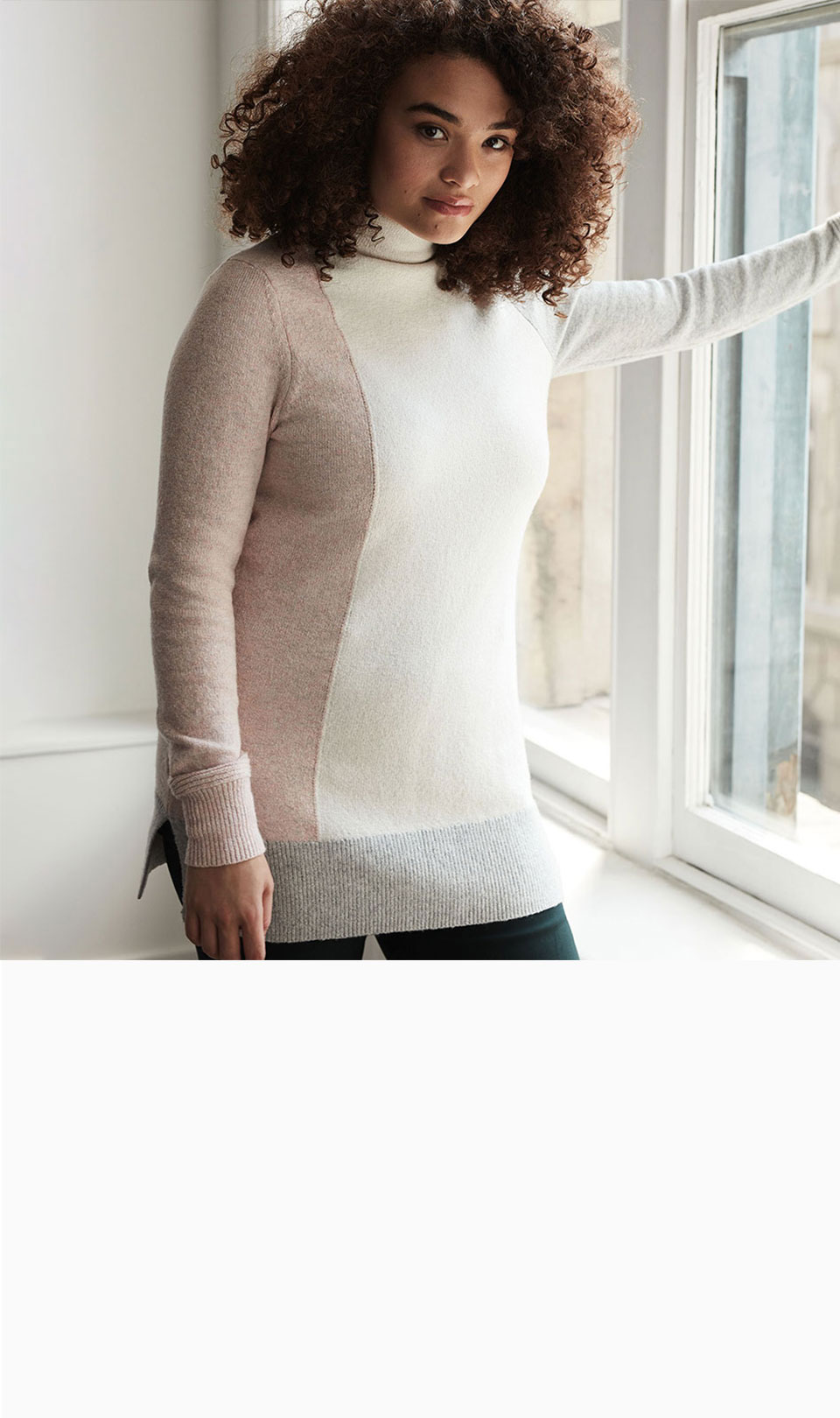 The tunic sweater