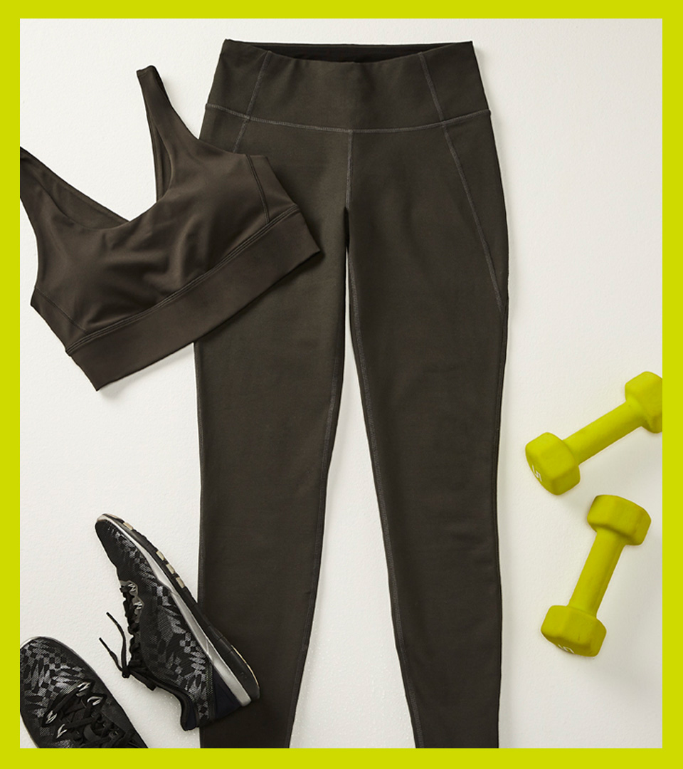 Four ways to wear our Sculptor leggings